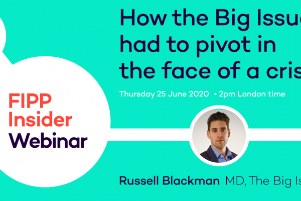 [Webinar] How The Big Issue pivoted during lockdown
